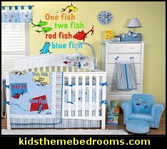 Dr. Seussu0027 One Fish Two Fish Bedding Set By Trend Lab Will Add The