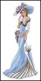 Her Elegant Parasol This Elegant Woman Figurine Features A Beautiful
