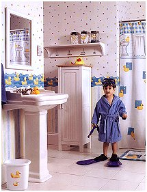 Fun Kids Bathroom Rubber Ducky Theme   Yellow Ducky Kidsu0027 Bathroom