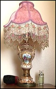 Boho Nightstand Lamp