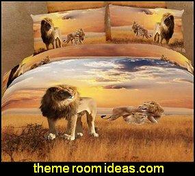 African Safari Bedroom Decorating Ideas African Safari Decor Wild Animal Safari Theme Bedrooms African Themed Bedroom Ideas Safari Bedding Animal Bedding Safari Murals